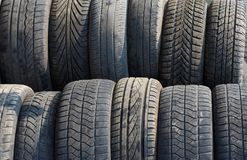 Tires Stock Photography