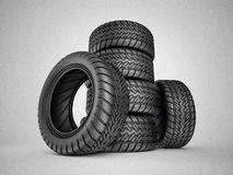Tires Royalty Free Stock Photo