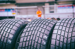 Tires. Car tires as symbolic background Stock Photo
