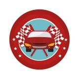 Tires car emblem icon. Illustration design Stock Photo
