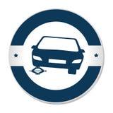 Tires car emblem icon. Illustration design Royalty Free Stock Images