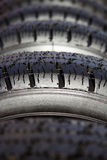 Tires for cars Stock Photography