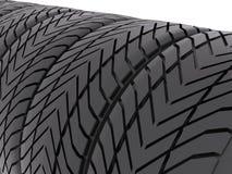 Tires closeup Stock Photo