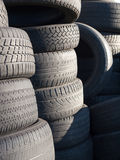 Tires Discarded Stock Photography