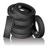 Tires.eps Stock Photography