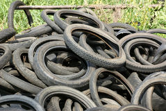 Tires garbage Stock Image
