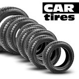 Tires isolated on the white background Stock Photos