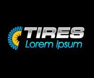 Tires Logo Design Royalty Free Stock Photography