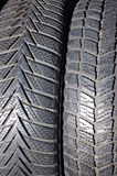Tires pattern Royalty Free Stock Photography