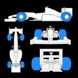 Tires racing car Royalty Free Stock Photos