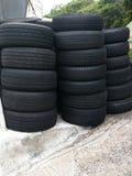 Tires repair and wheels Stock Photo