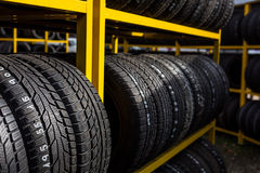 Tires for sale Stock Photography