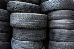 Tires for sale Stock Image