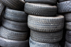 Tires for sale Stock Photo