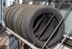 Free Tires Show-window. Royalty Free Stock Photo - 33706715