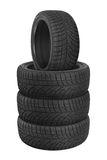 Tires stack royalty free stock image