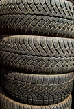 Tires Texture. Tire Texture in close up details Royalty Free Stock Image