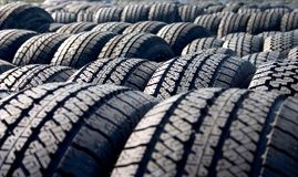 Tires, Tires, Tires Stock Photo