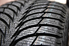 Tires on wheels for car Stock Photography