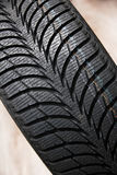 Tires on wheels for car Royalty Free Stock Photo