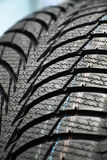 Tires on wheels for car Royalty Free Stock Photography