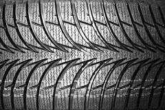 Tires on wheels for car Stock Image