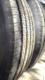 Tires and wheels Royalty Free Stock Image