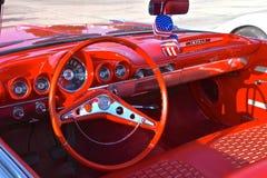 Tiret d'un Chevy 1959 Photographie stock libre de droits