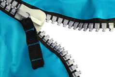Tirette bleue photo libre de droits