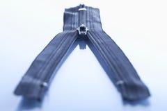 Tirette bleue, plan rapproché Image libre de droits