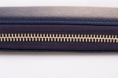 Tirette boutonnée de portefeuille de femme Photo libre de droits