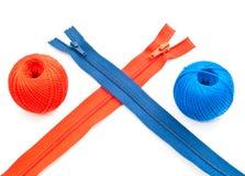 Tirettes et bande de roulement colorées Image libre de droits