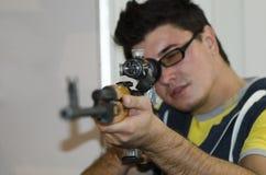 Tireur isolé de fusil Photos libres de droits