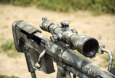 Tireur isolé Rifle Photo stock