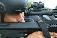 Tirez le tir de cible photo libre de droits