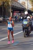 Tirfi Tsegaye, Berlin Marathon 2014 (ganador) Imágenes de archivo libres de regalías