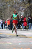 Tirfi Tsegaye races up Heartbreak Hil Stock Photos