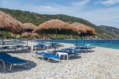 Tiri all'isola di Alonissos, Grecia, Europa fotografie stock