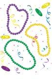 Tiri di Mardi Gras Immagini Stock