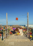Tiri il club in secco sulla spiaggia a Scheveningen, Paesi Bassi Immagini Stock Libere da Diritti