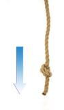 Tiri la corda Fotografie Stock Libere da Diritti