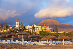 Tiri Las in secco Americas nell'isola di Tenerife - canarino fotografia stock