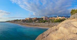 Tiri Las in secco Americas nell'isola di Tenerife - canarino fotografia stock libera da diritti