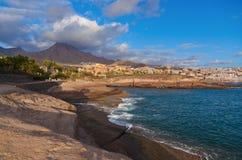 Tiri Las in secco Americas nell'isola di Tenerife - canarino immagine stock