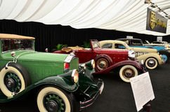 Tiriacs cars collection Stock Photo