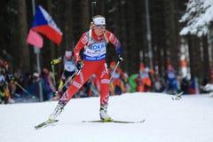 Tiril Eckhoff - biathlon Royalty Free Stock Photos