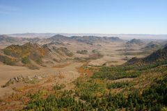 Tirilj in Mongolei Lizenzfreie Stockfotos