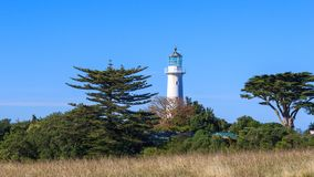 Tiritiri Matangi Lighthouse Stock Photo