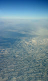 Tiro aéreo de nubes Imagen de archivo libre de regalías