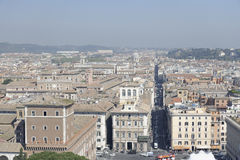 Tiro aéreo de Roma, Itália Fotos de Stock